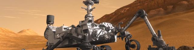 Роботы летят на Марс