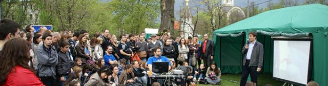5 мая 2012 года. Двадцатый День Открытой Астрономии в Москве. Часть третья