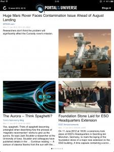 Обзор астрономических приложений на Apple iPad (iPhone)