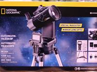 Красочная упаковка телескопа Bresser National Geographic 90/1250 GOTO