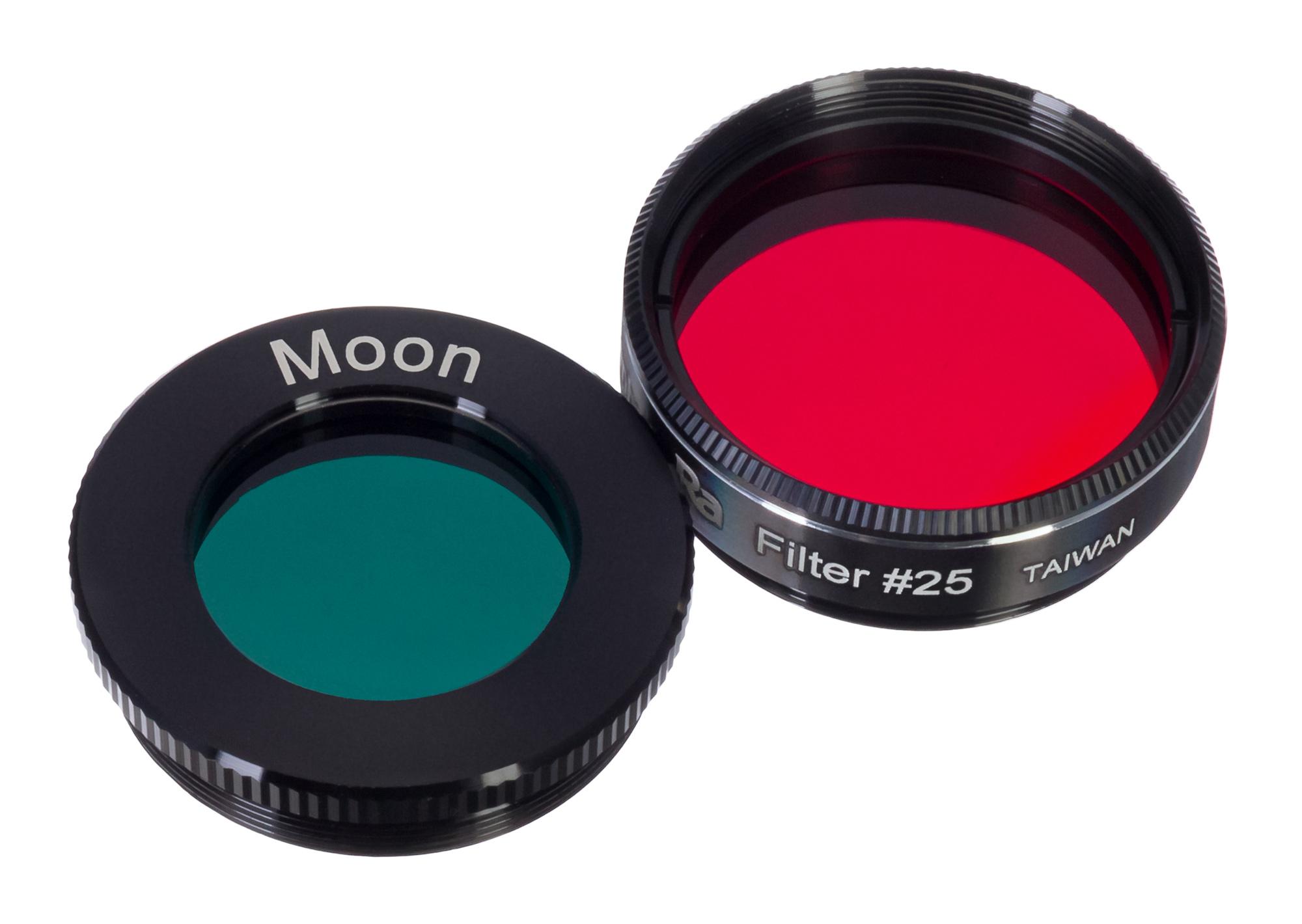 Картинка для Набор светофильтров Levenhuk (Левенгук) F2 «Луна и Марс»