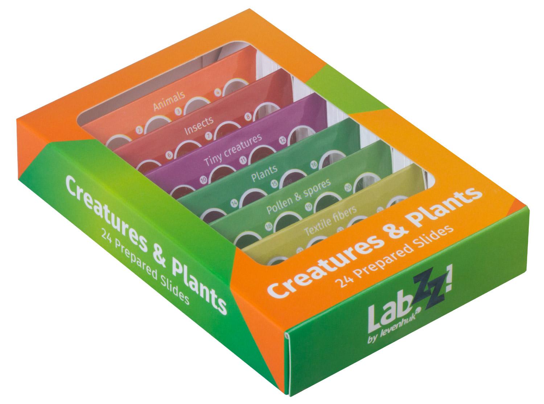Набор микропрепаратов Levenhuk (Левенгук) LabZZ CP24, существа