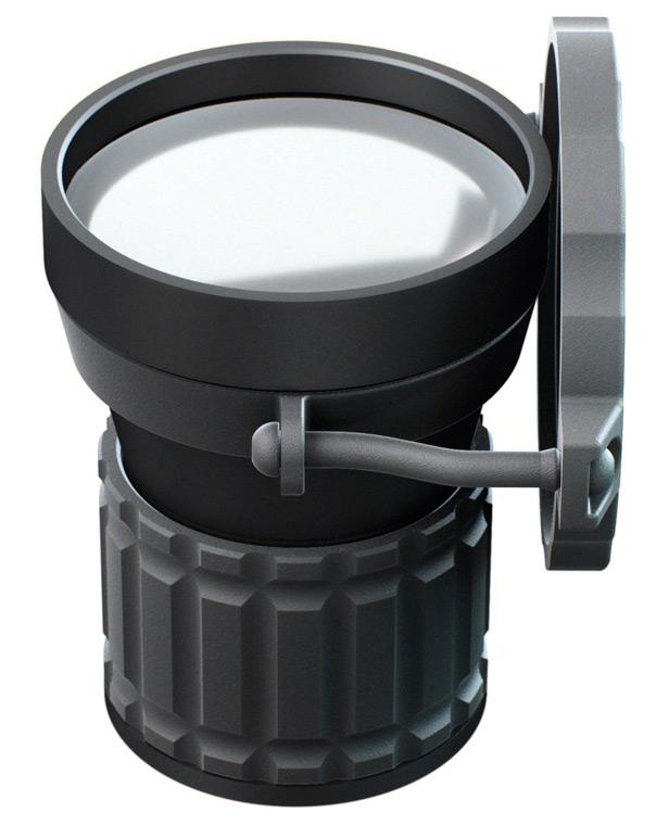 Картинка для Объектив тепловизионный FORTUNA 50 мм (f/1,0)