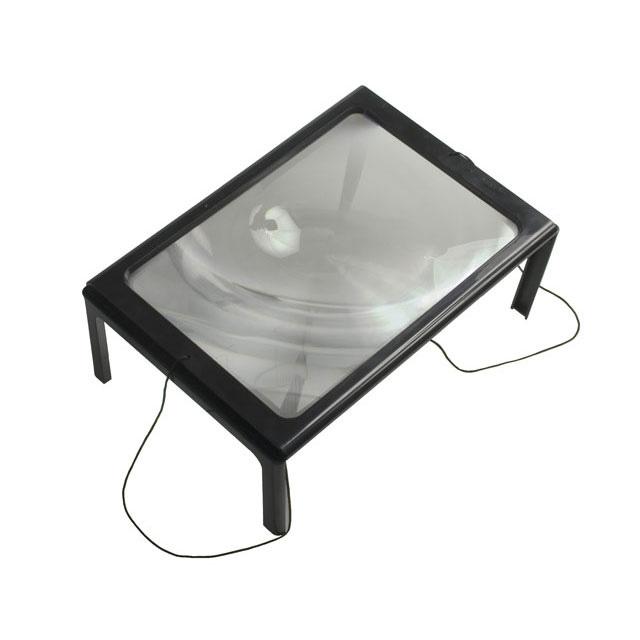 Картинка для Линза Френеля настольная Veber 3x, 275x195 мм