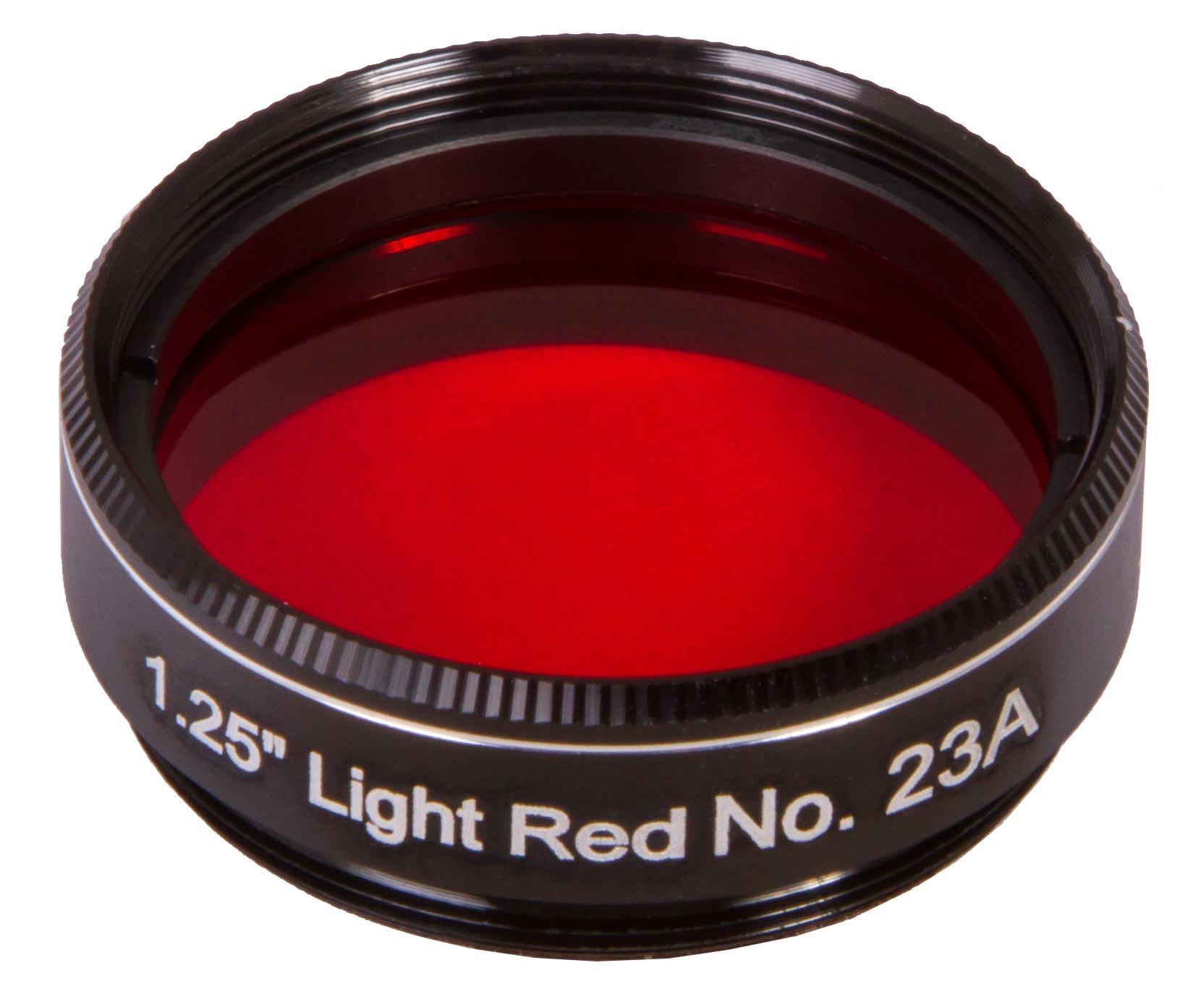"""Картинка для Светофильтр Explore Scientific светло-красный №23A, 1,25"""""""
