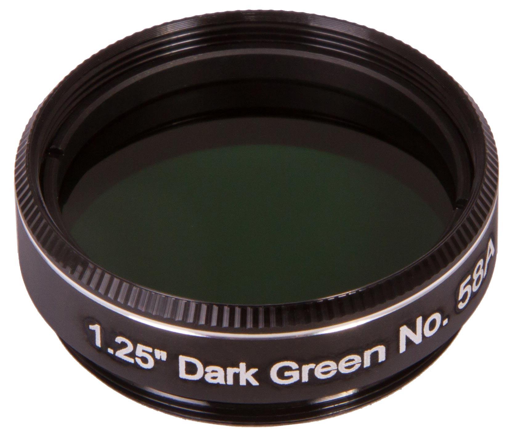 Светофильтр Explore Scientific темно зеленый №58A, 1,25