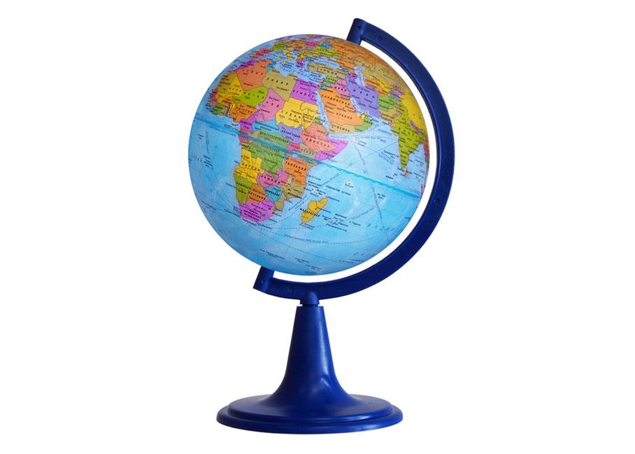 Картинка для Глобус политический диаметром 120 мм