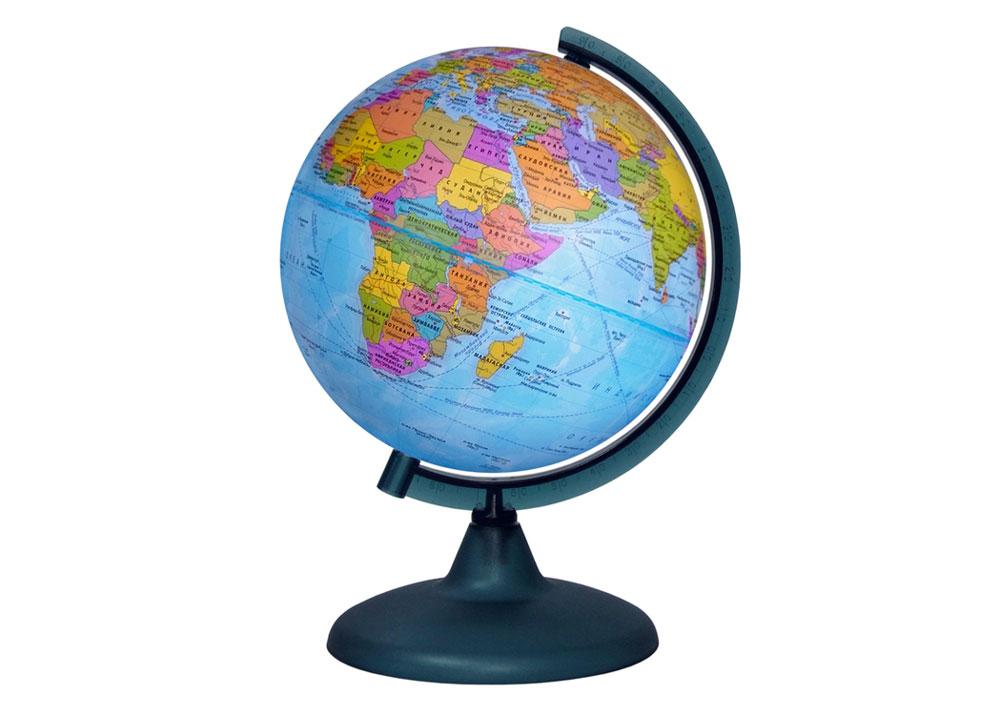 Картинка для Глобус политический диаметром 210 мм