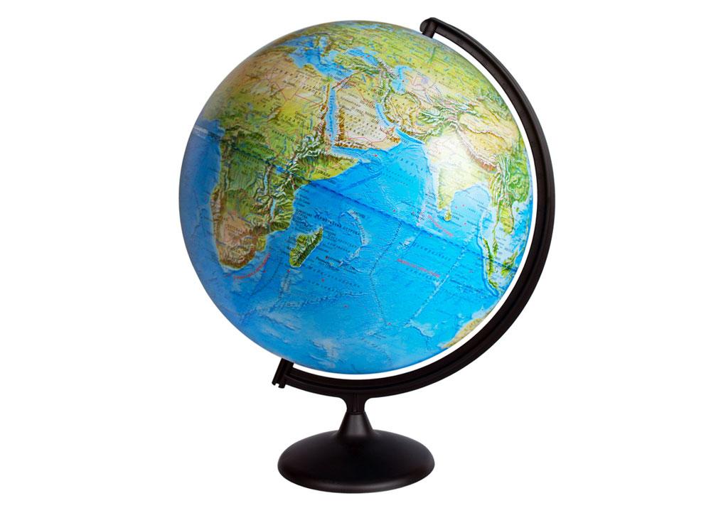 Картинка для Глобус физический диаметром 420 мм