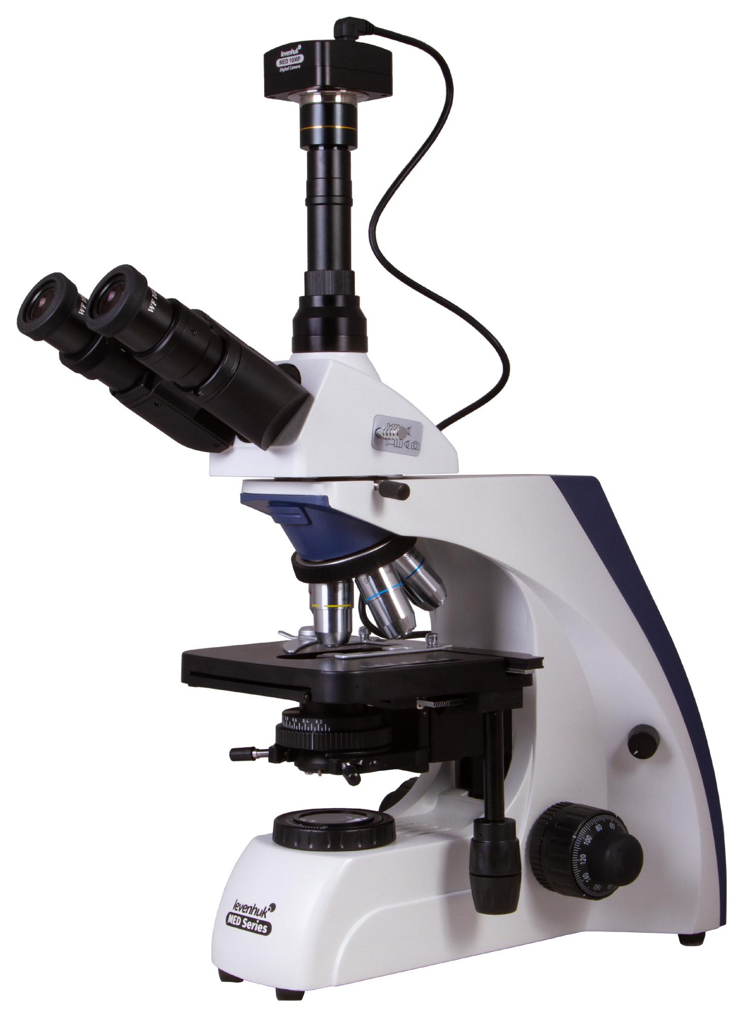 Картинка для Микроскоп цифровой Levenhuk (Левенгук) MED D30T, тринокулярный