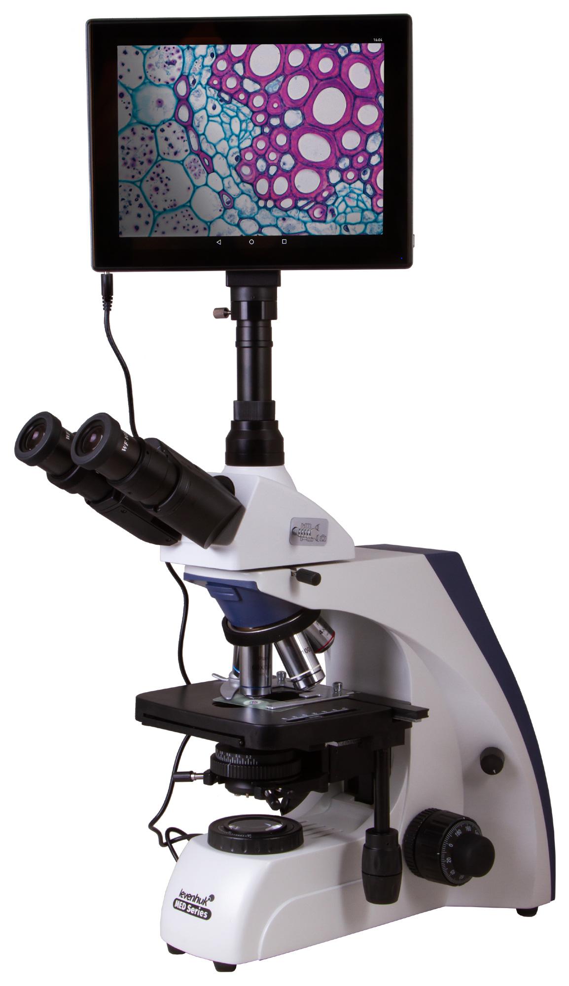 Картинка для Микроскоп цифровой Levenhuk (Левенгук) MED D35T LCD, тринокулярный