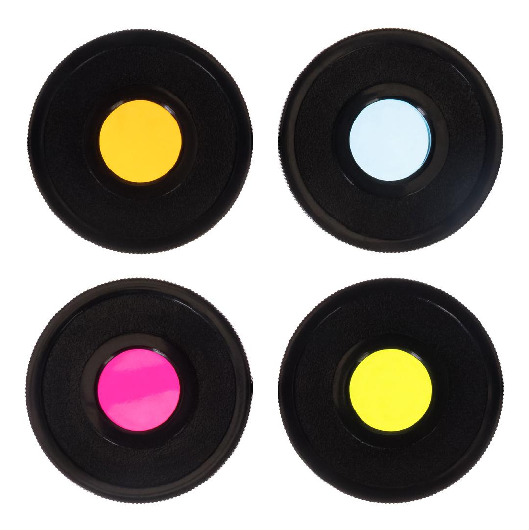 """Картинка для Набор светофильтров Bresser (Брессер) Essential, 1,25"""" (красный, зеленый, синий, желтый)"""