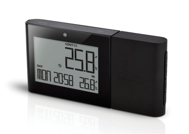 Картинка для Термометр цифровой Oregon Scientific RMR262, с беспроводным датчиком, черный
