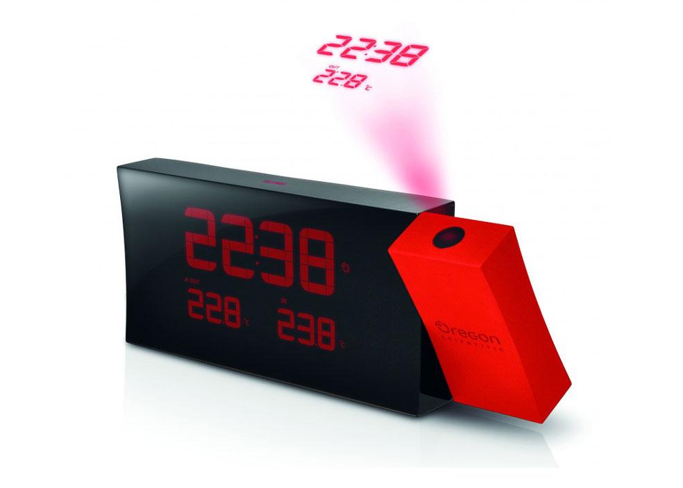 Картинка для Часы проекционные Oregon Scientific Prysma RMR221PN, с термометром