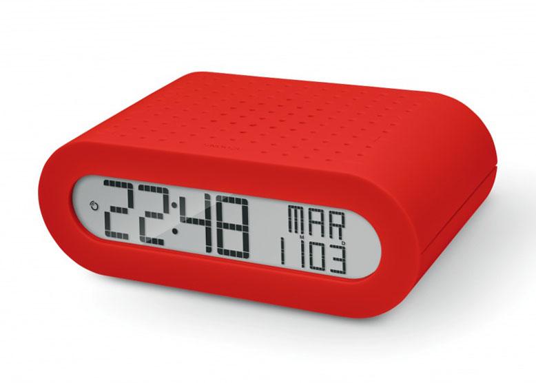 Часы с радиоприемником Oregon Scientific RRM116, красные 74243