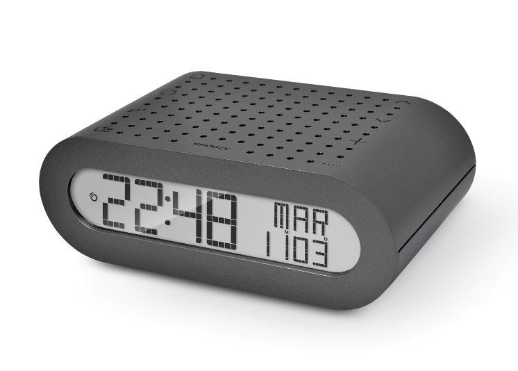 Часы с радиоприемником Oregon Scientific RRM116, серые 74244