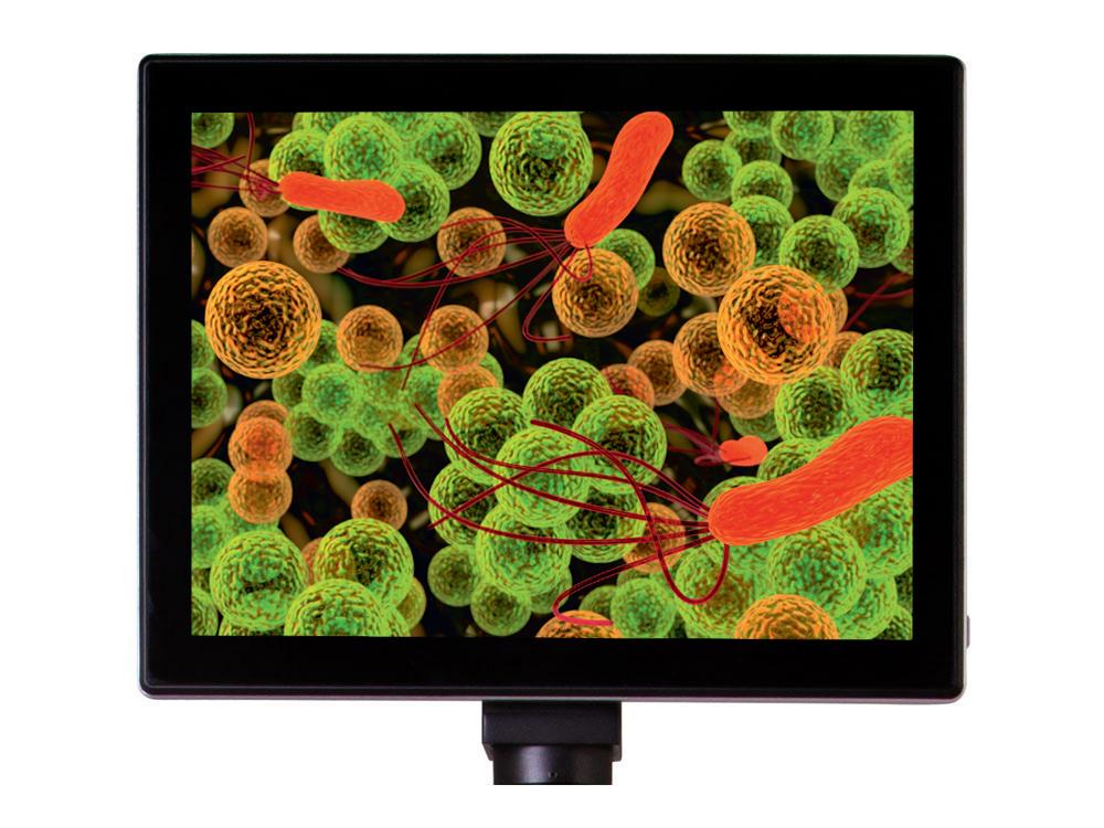 """Картинка для Камера цифровая Levenhuk (Левенгук) MED 5 Мпикс с ЖК-экраном 9,4"""" для микроскопов"""