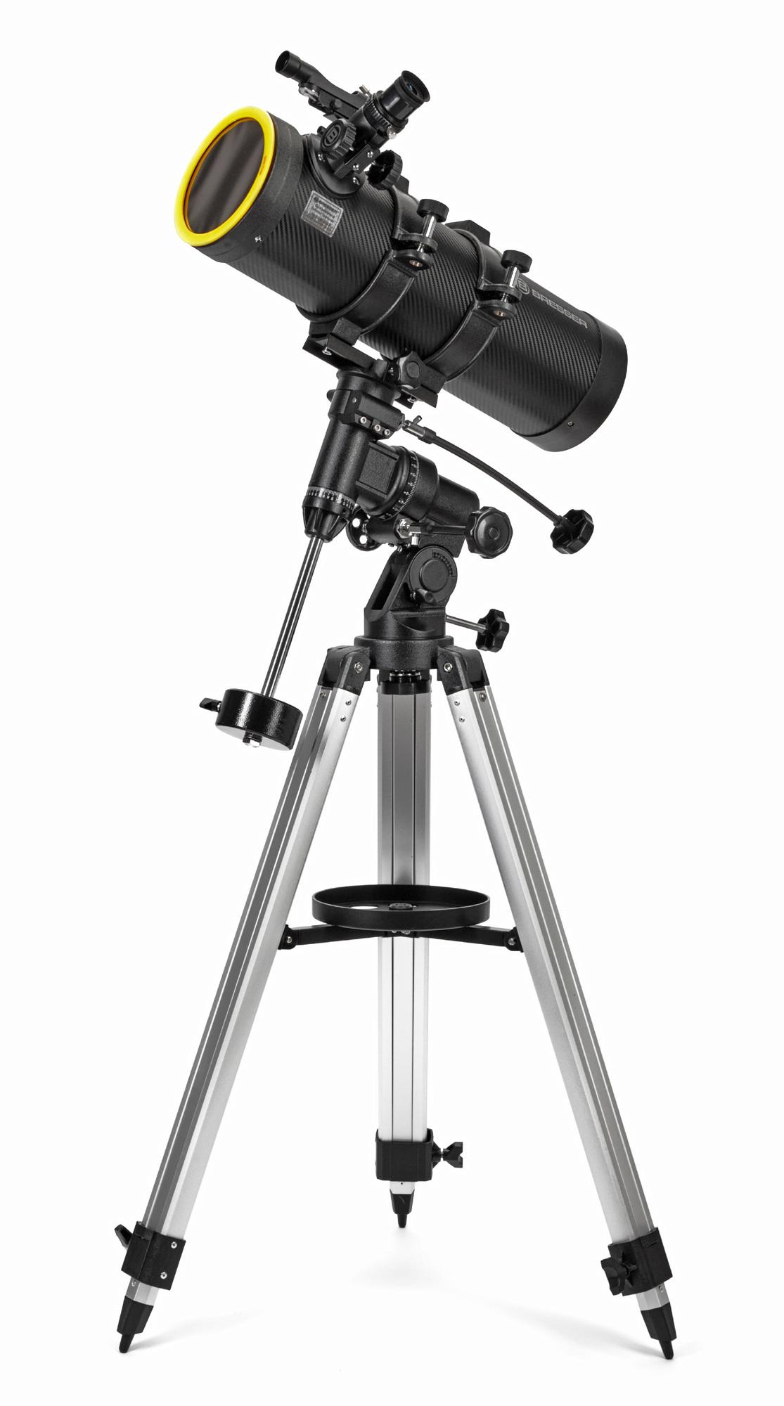 Картинка для Телескоп Bresser (Брессер) Spica 130/1000 EQ3, с адаптером для смартфона