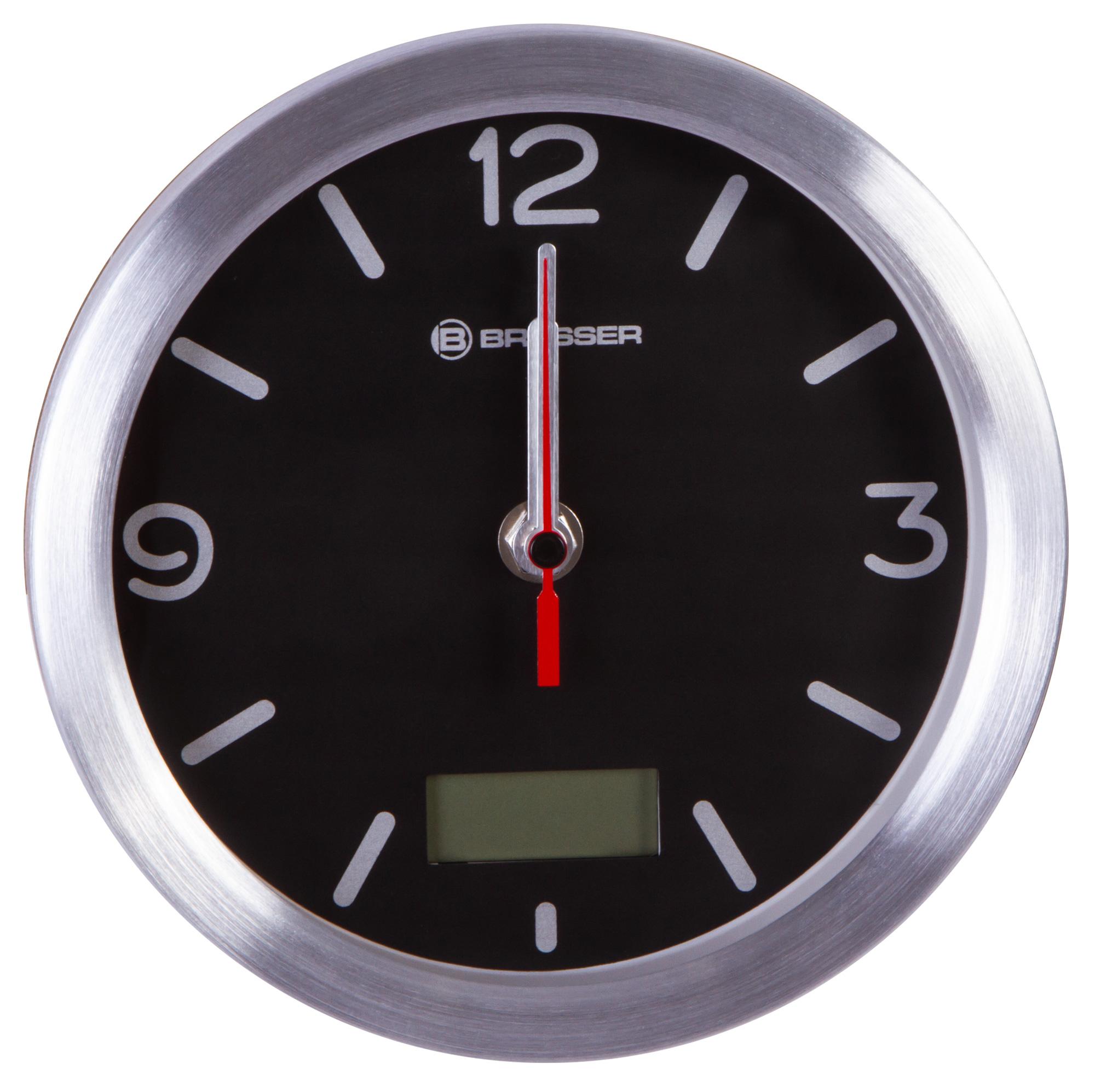 Картинка для Часы Bresser (Брессер) MyTime Bath RC, водонепроницаемые, черные