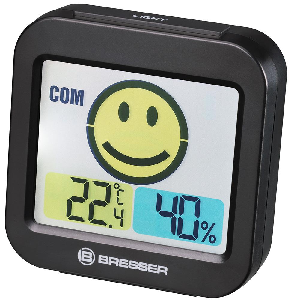 Картинка для Метеостанция Bresser (Брессер) MyTime Smile, черная