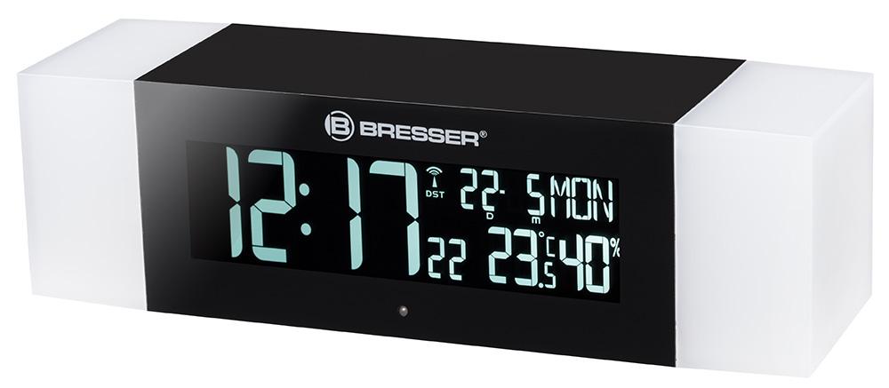 Картинка для Радио с будильником и термометром Bresser (Брессер) MyTime Sunrise Bluetooth, черное