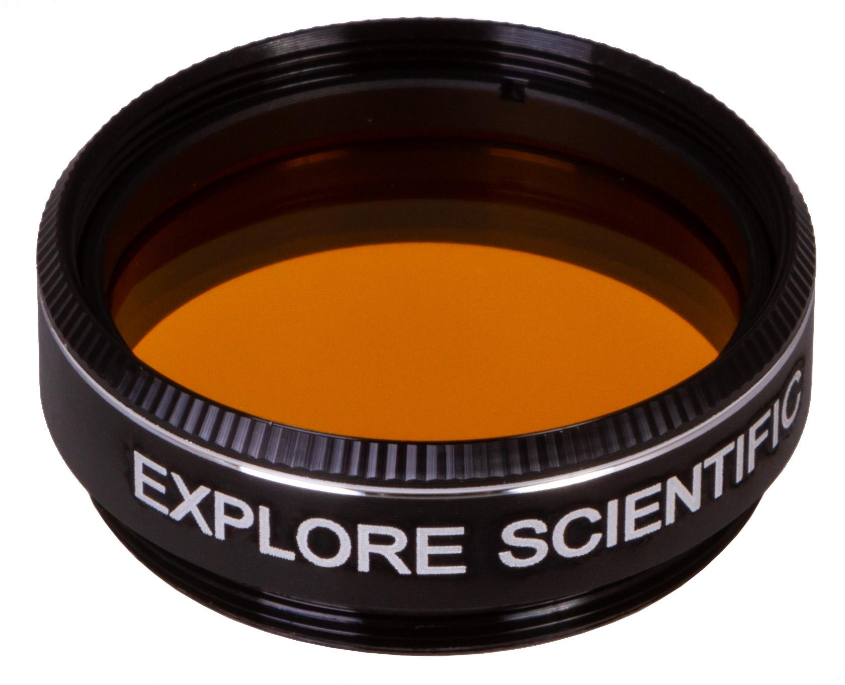 """Картинка для Светофильтр Explore Scientific темно-желтый №15, 1,25"""""""