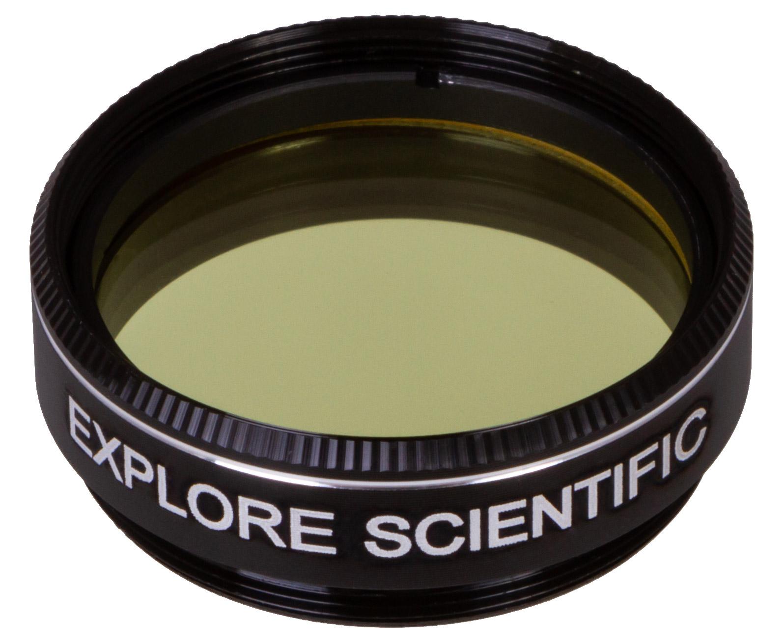 """Картинка для Светофильтр Explore Scientific светло-желтый №8, 1,25"""""""