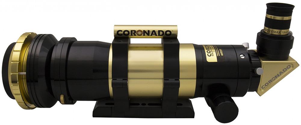 Картинка для Солнечный телескоп CORONADO SolarMax III 70, с блок. фильтром 10 мм (OTA)