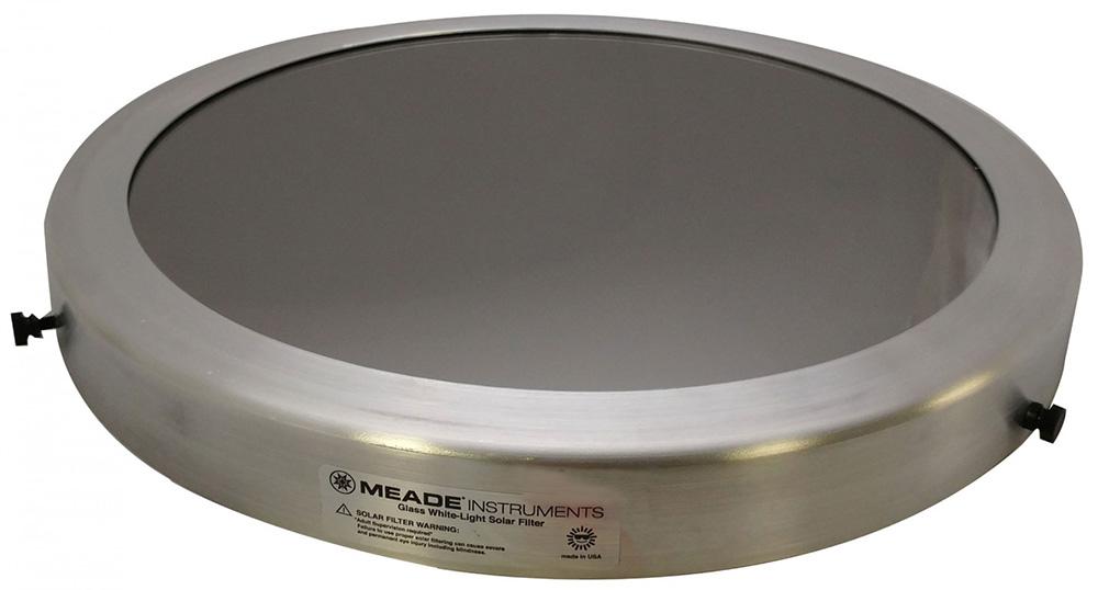 Картинка для Солнечный фильтр Meade 340–346 мм, стеклянный
