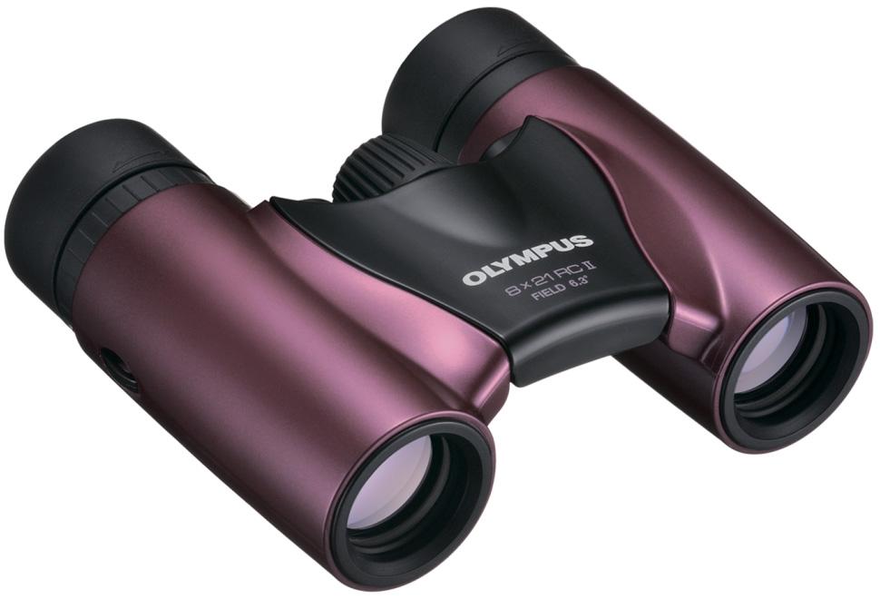 Картинка для Бинокль Olympus 8x21 RC II, пурпурный