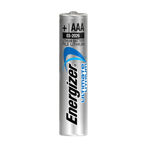Элемент питания Energizer Ultimate AAA LR03/FR03 (2 шт.), литиевый