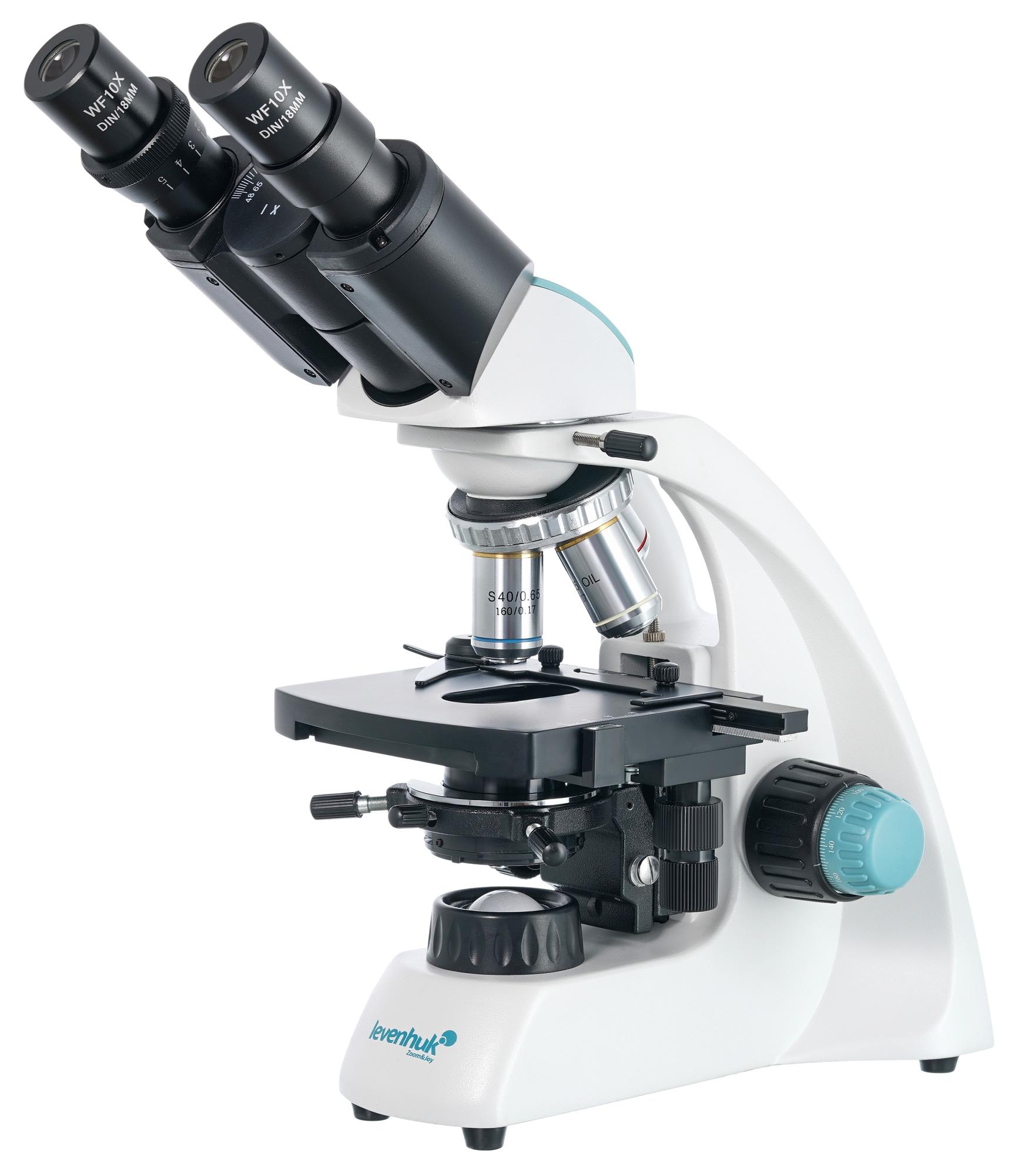 Картинка для Микроскоп Levenhuk (Левенгук) 400B, бинокулярный