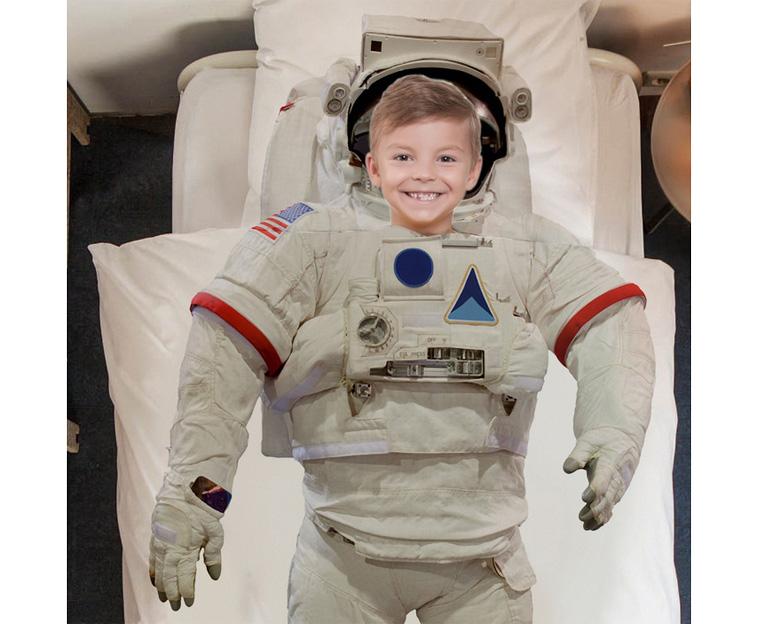 Картинка для Комплект постельного белья NEWTONE «Астронавт», 1,5-спальное