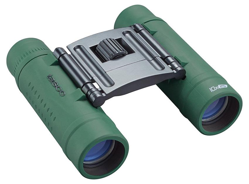 Картинка для Бинокль Tasco Essentials 10x25 Green