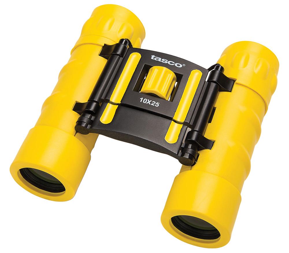 Картинка для Бинокль Tasco Essentials 10x25 Yellow