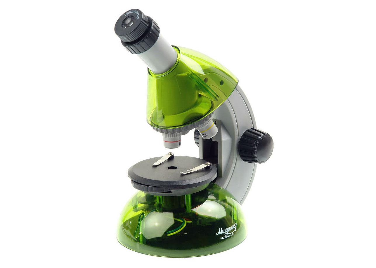 Картинка для Микроскоп Микромед «Атом» 40–640x, лайм