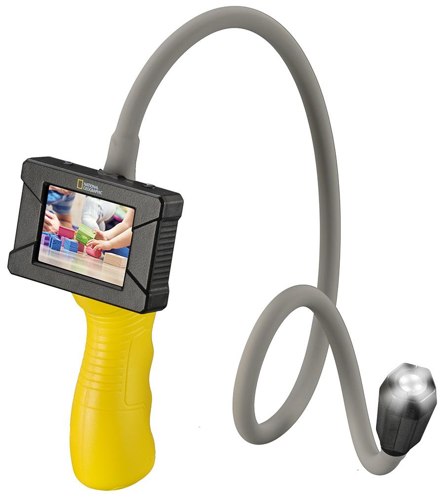 Картинка для Камера эндоскопическая Bresser (Брессер) National Geographic экраном и подсветкой, детская