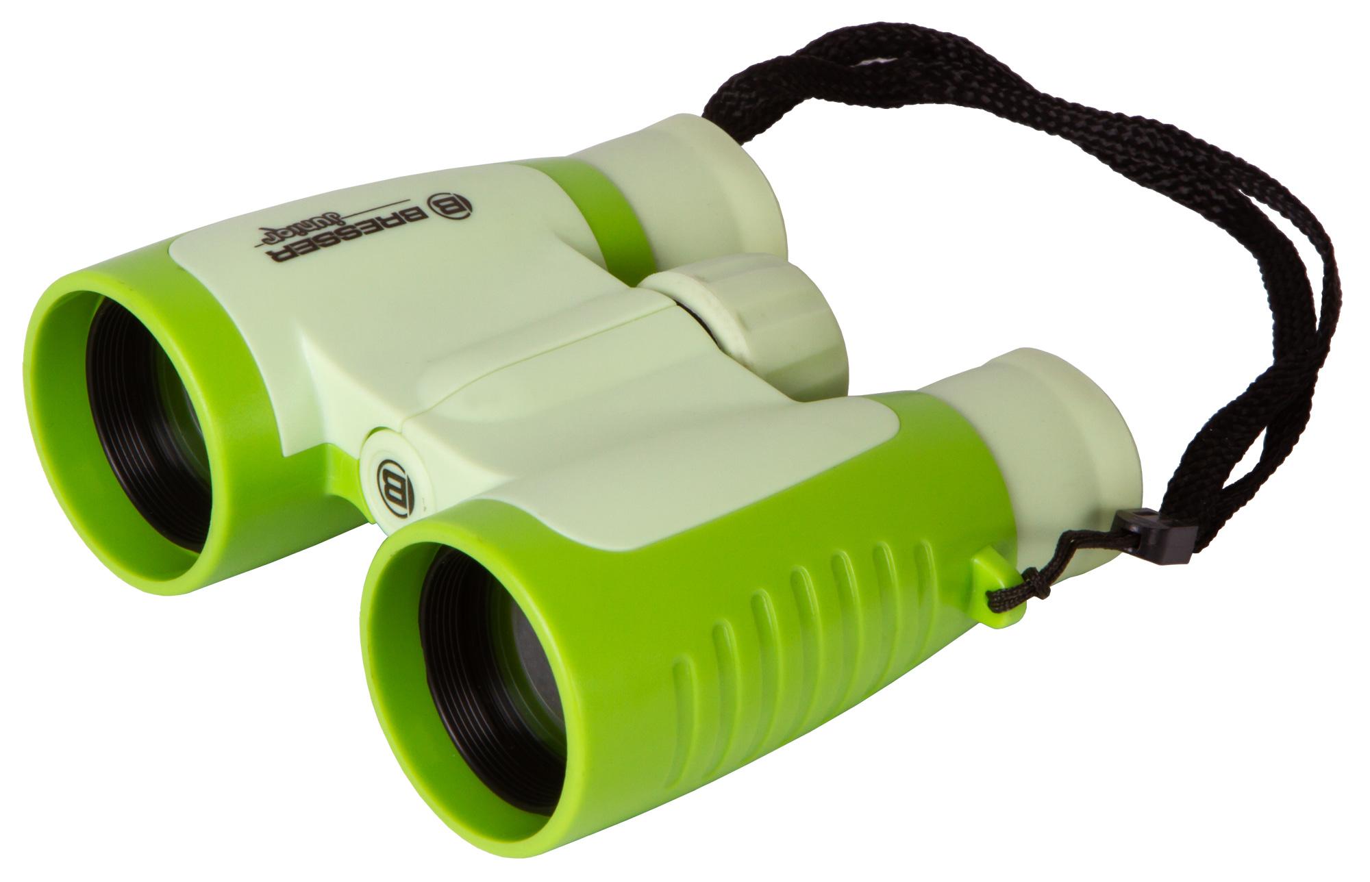 Картинка для Бинокль детский Bresser (Брессер) Junior 3x30, зеленый
