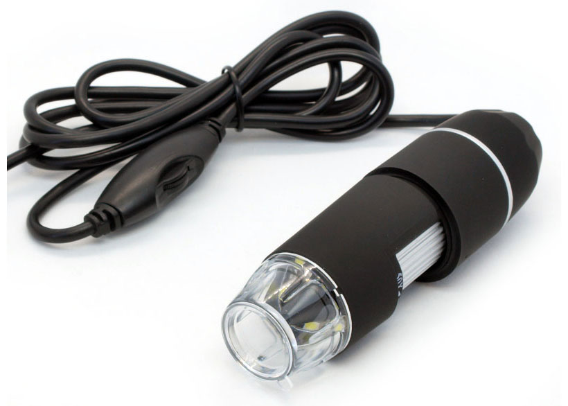 Картинка для USB-микроскоп цифровой CS02 50–1000x 2 Мпикс