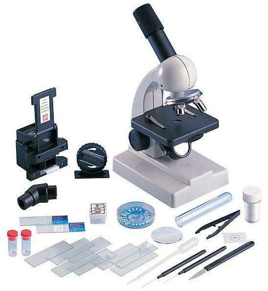 Картинка для Микроскоп игрушечный EDU-TOYS 100–900x (MS901)