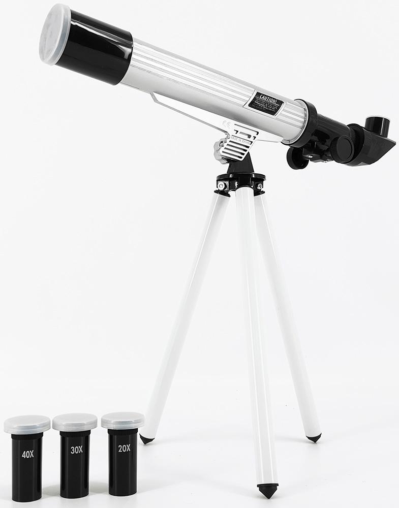Картинка для Телескоп игрушечный EDU-TOYS 20x, 30x, 40x