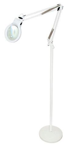 Картинка для Лупа-лампа напольная «Леда С20-043» 4,5/9x, на пантографе, с подсветкой (20 LED)