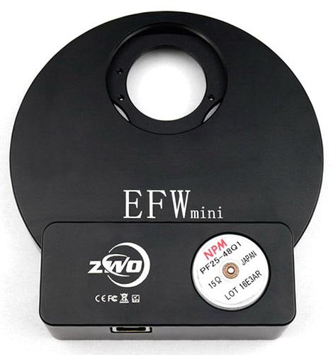 """Картинка для Колесо для фильтров ZWO EFW mini, 5х1,25""""/31 мм"""