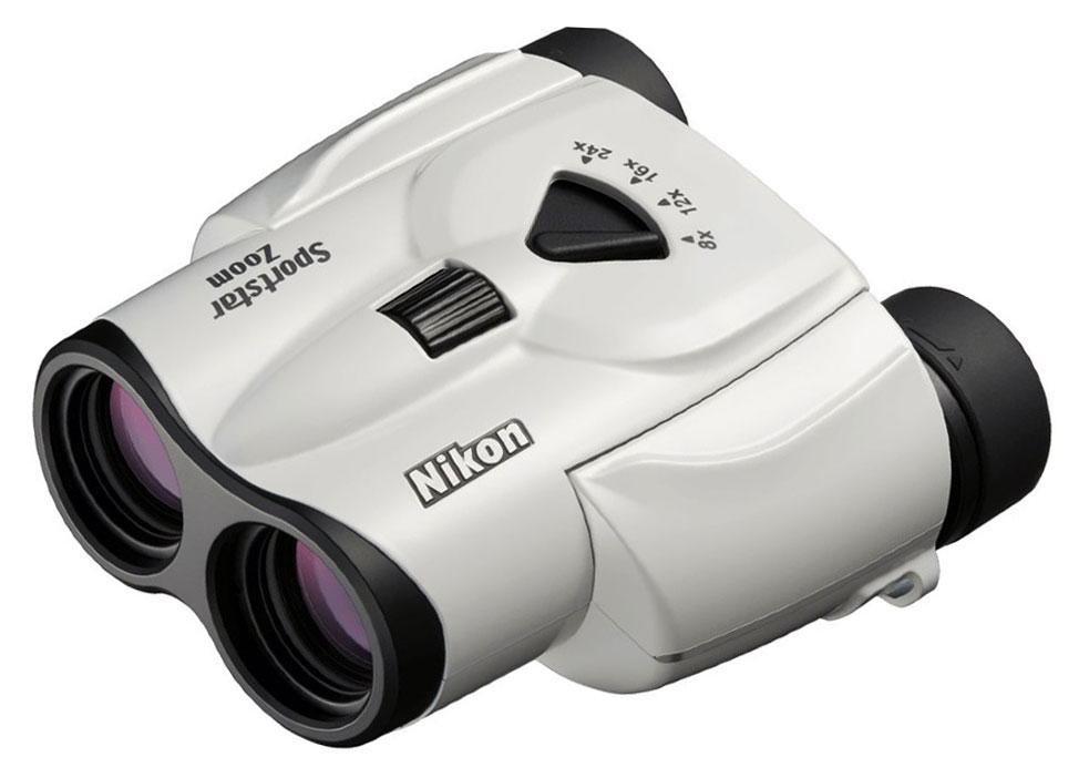 Картинка для Бинокль Nikon Sportstar Zoom 8–24x25, белый