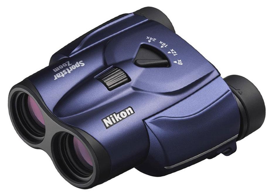 Картинка для Бинокль Nikon Sportstar Zoom 8–24x25, темно-синий