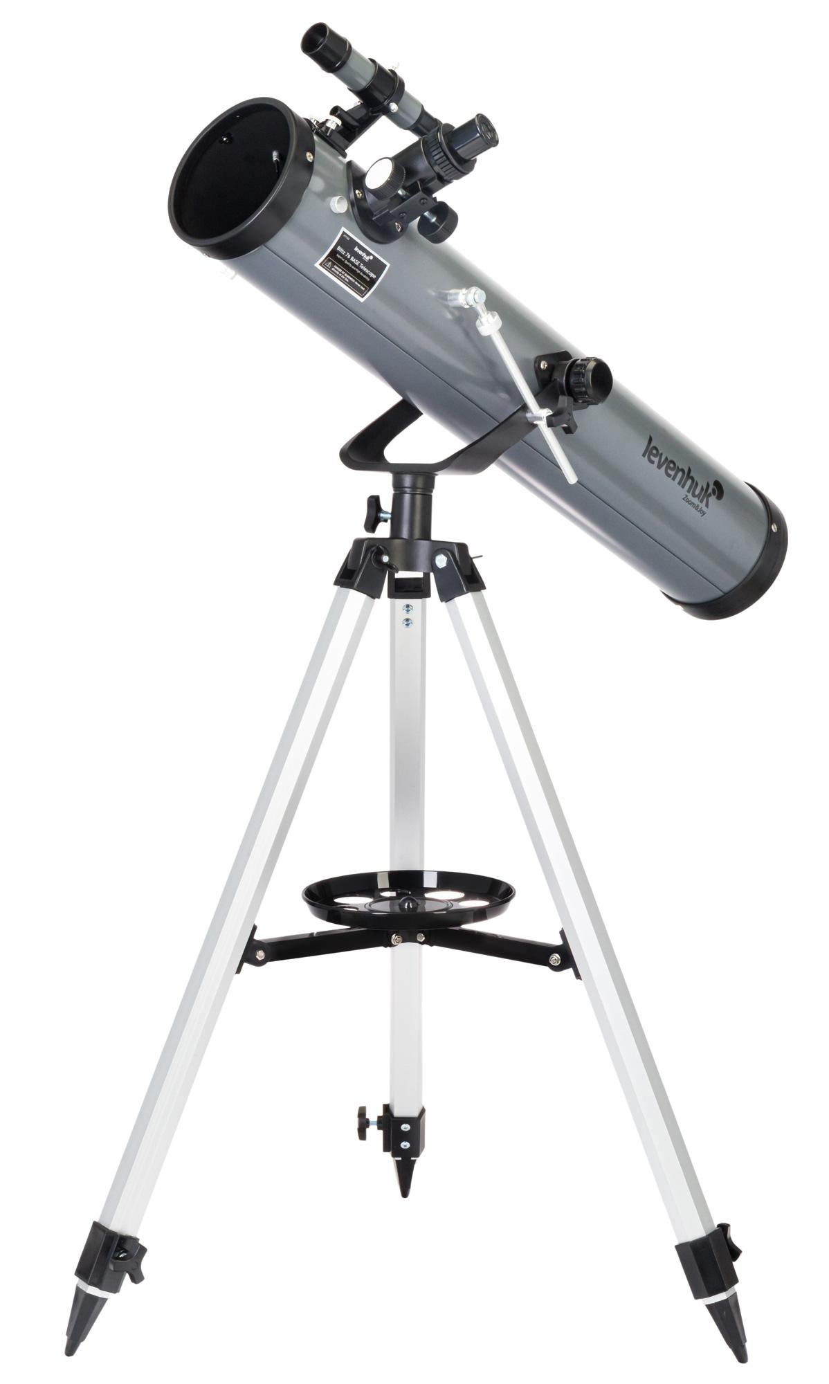 Картинка для Телескоп Levenhuk (Левенгук) Blitz 76 BASE