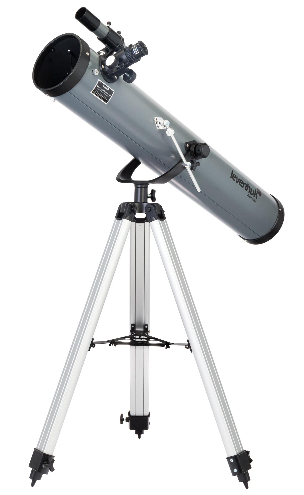 Картинка для Телескоп Levenhuk (Левенгук) Blitz 114 BASE