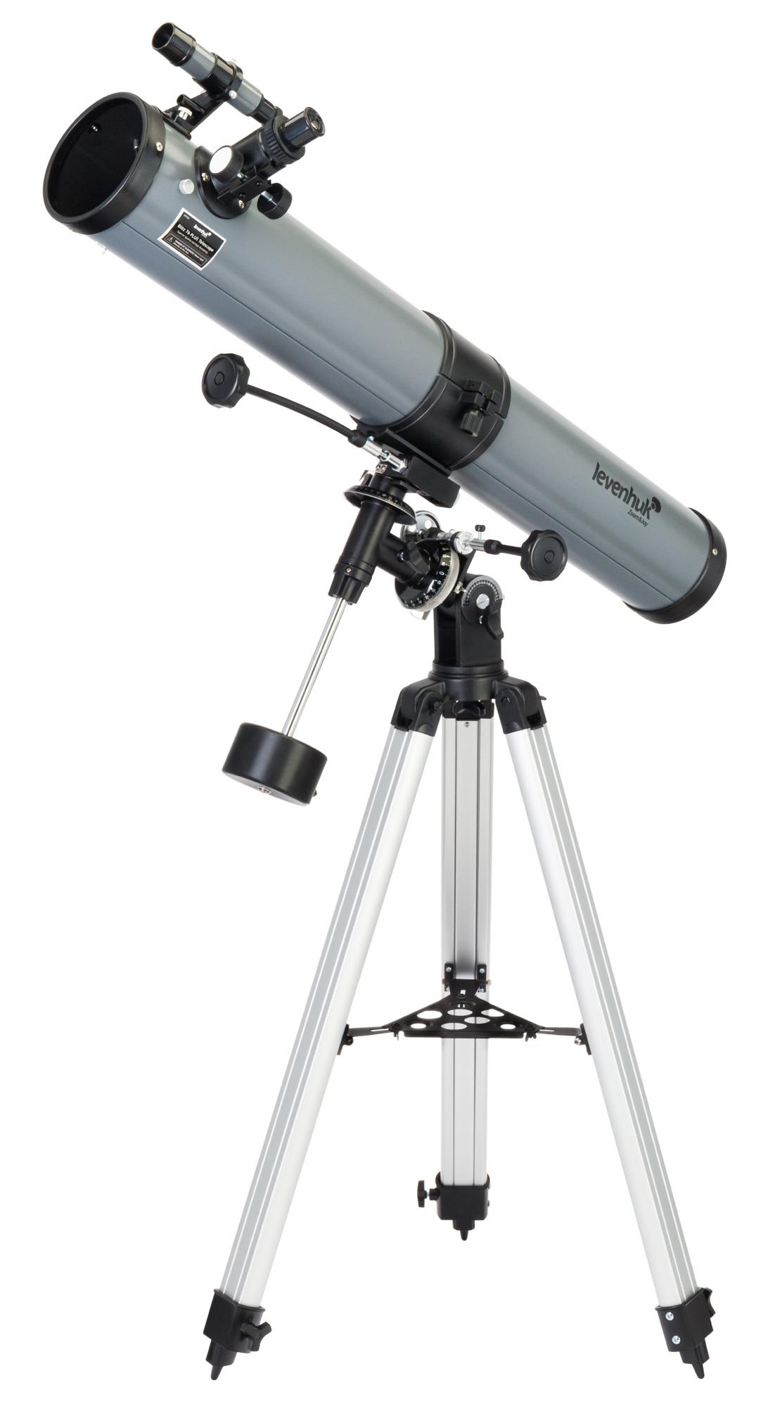 Картинка для Телескоп Levenhuk (Левенгук) Blitz 76 PLUS