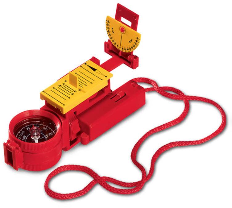 Картинка для Искатель оптический детский Navir «10 в 1», красный
