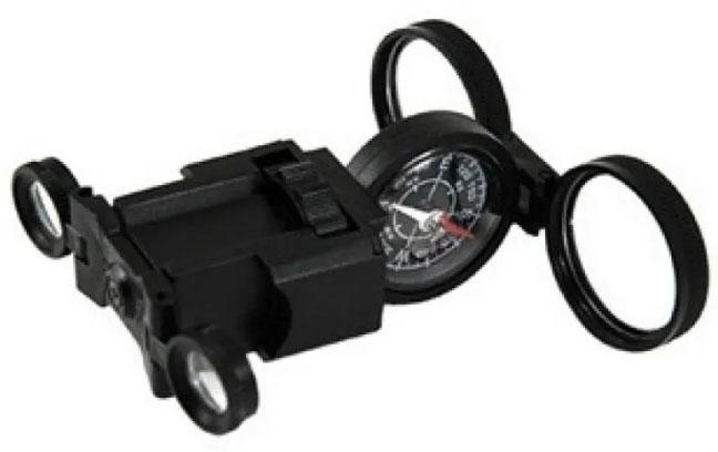 Картинка для Искатель оптический детский Navir «6 в 1» с креплением для ремня, черный